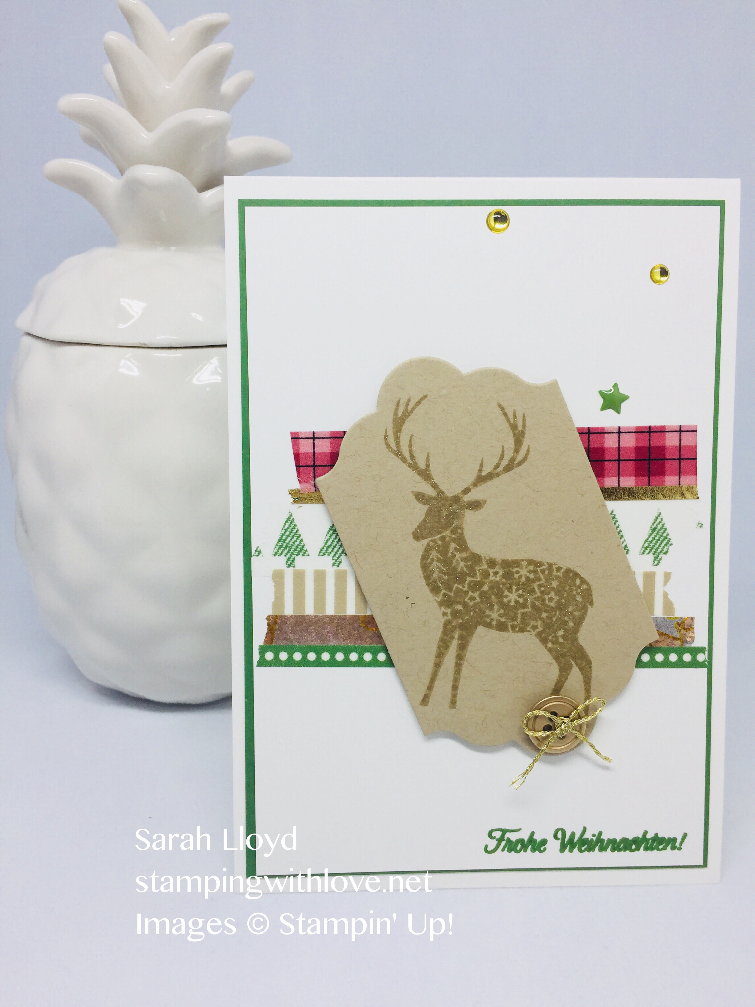 Stampingwithlove sarah lloyd independent uk stampin up i am so in love with the merry patterns limited edition stamp set this is a one off christmas stamp reward set which is only available with purchases from kristyandbryce Choice Image